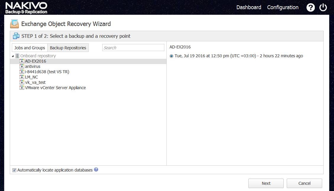 New VMware Backup Features in NAKIVO Backup & Replication v6 1