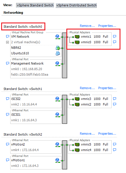 Key Concepts of ESXi Networking - VMware Essentials