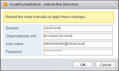 Join Active Directory