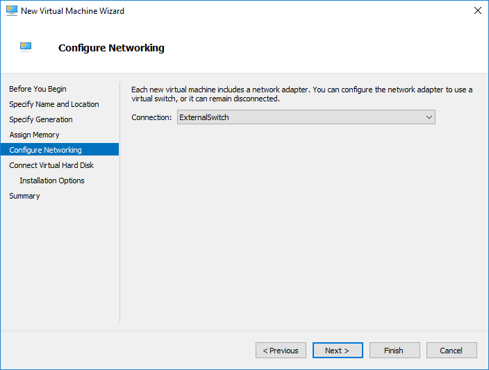 Configure VM Networking