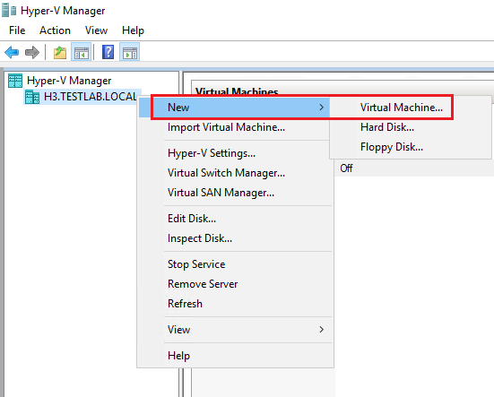 Creating and Configuring VMs in Windows Server 2016 Hyper-V