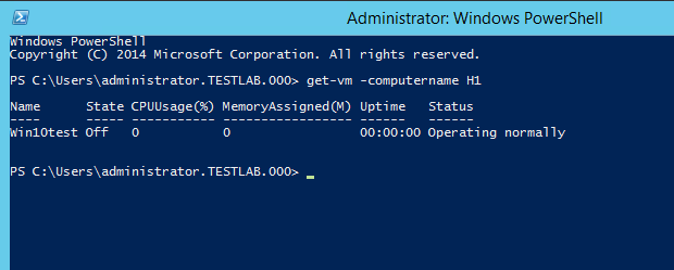 Administrator: Windows PowerShell