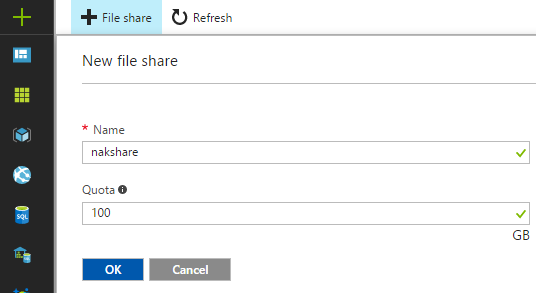 Create File Share
