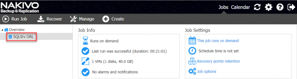 Instant SQL Server Objects Recovery with NAKIVO