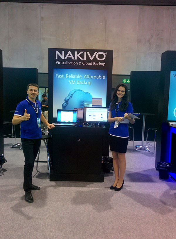 NAKIVO Heads for VMworld 2017 US