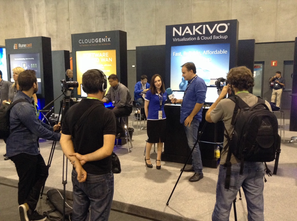 NAKIVO at VMworld