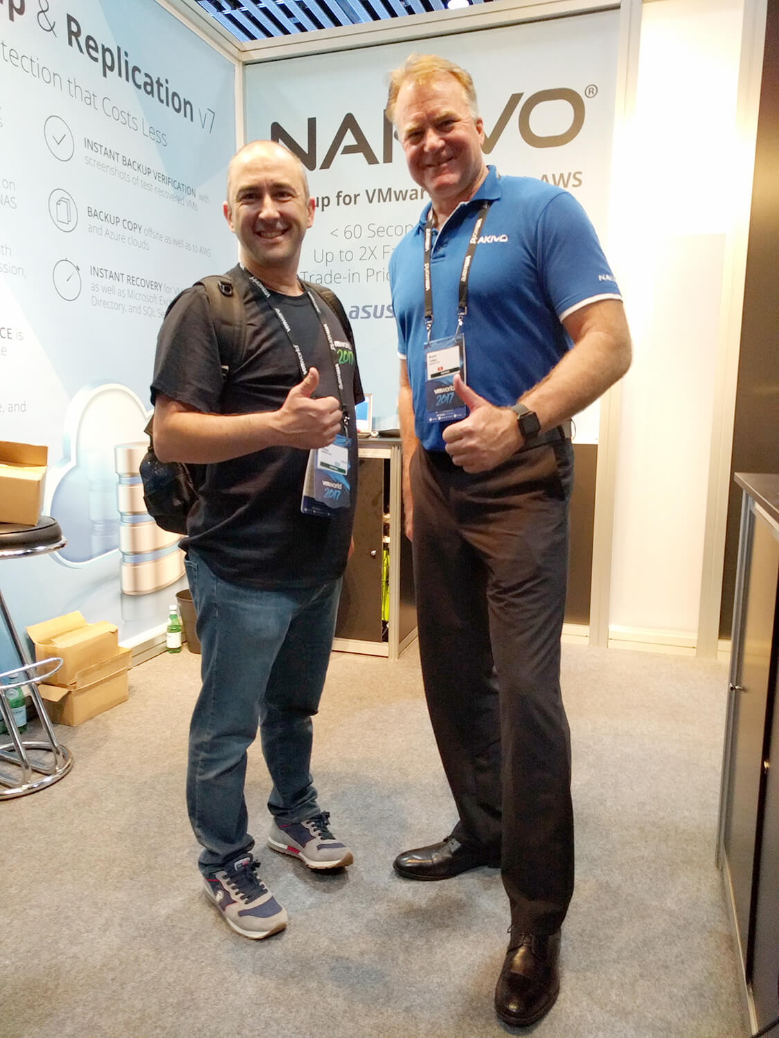 NAKIVO meets partners at VMworld