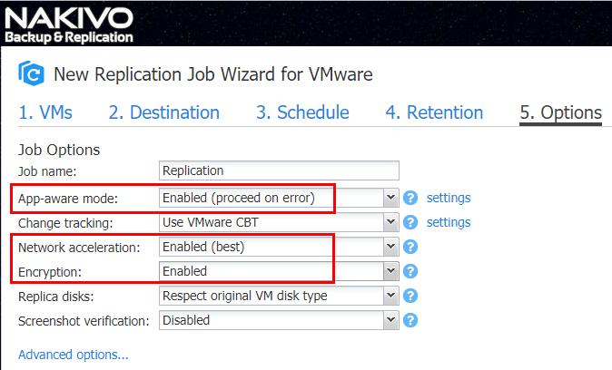 Legacy VM Backup