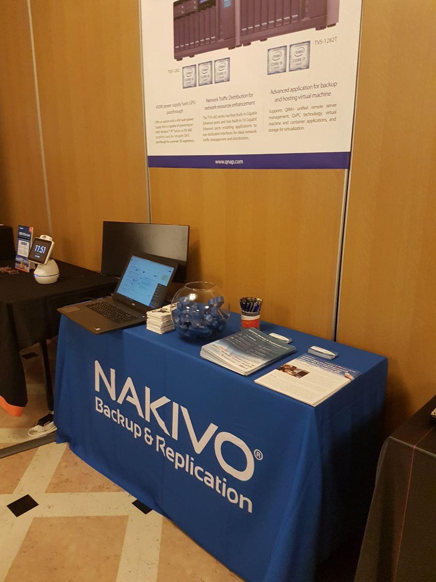NAKIVO at QNAP Partner Day