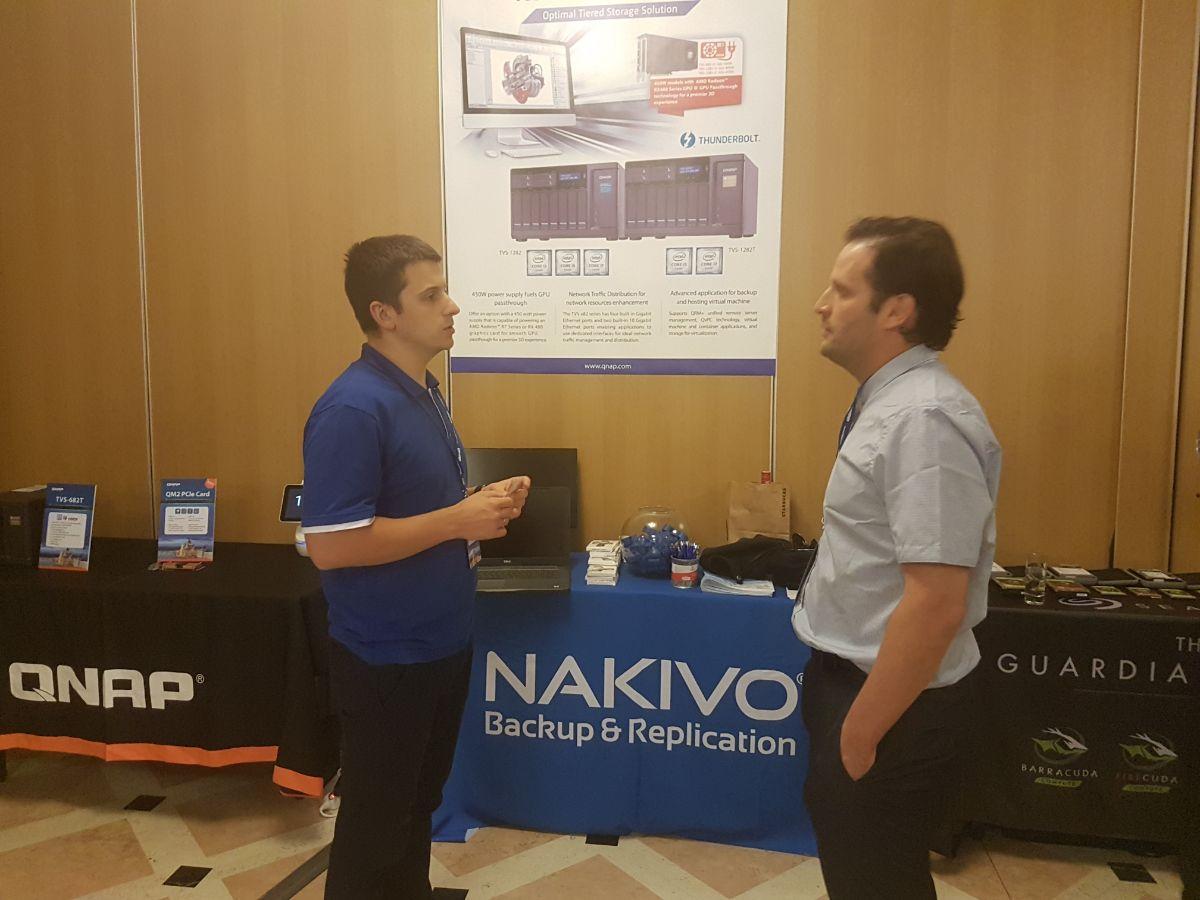 NAKIVO and QNAP Partner
