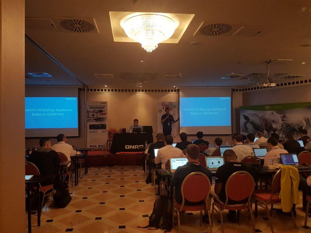 NAKIVO at QNAP 2017 Partner Day in Budapest