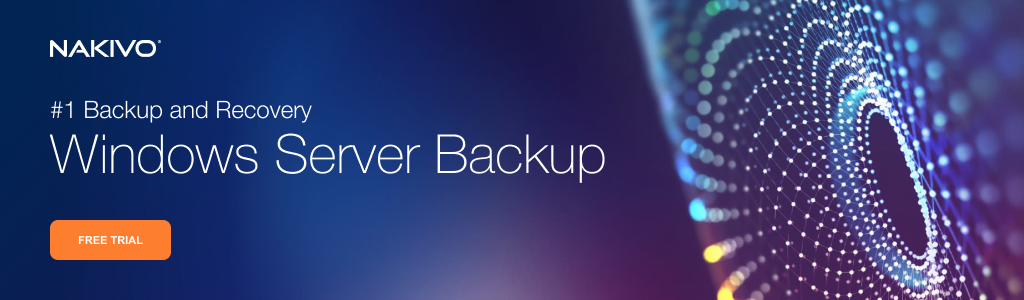 Backup for Windows Server