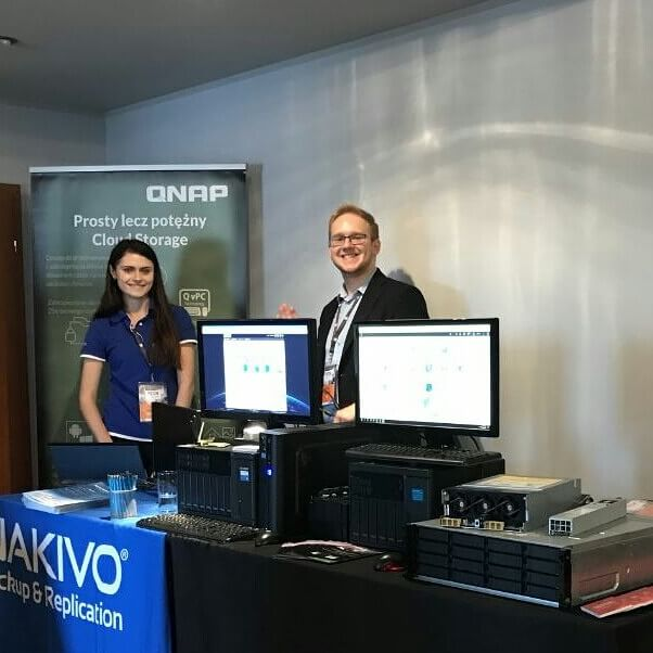NAKIVO at TECH meets in Poland