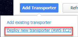 Deploy new transporter (AWS EC2)