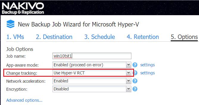 NAKIVO Backup & Replication offers an App-aware mode for Hyper-V