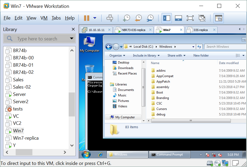 How to Perform VMware Backup as Hyper-V Administrator