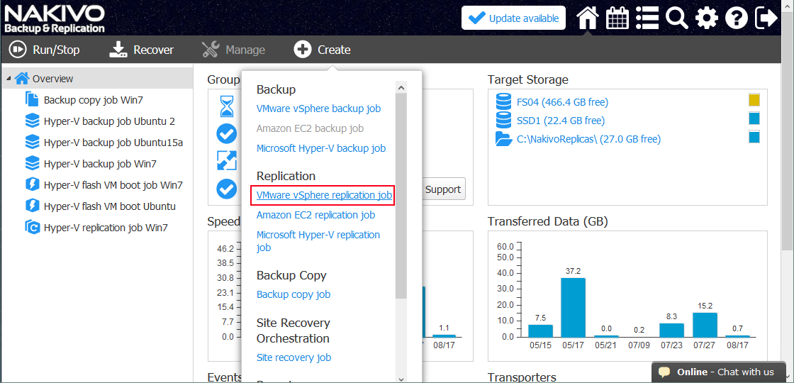 Site Recovery with NAKIVO Backup & Replication Part 2