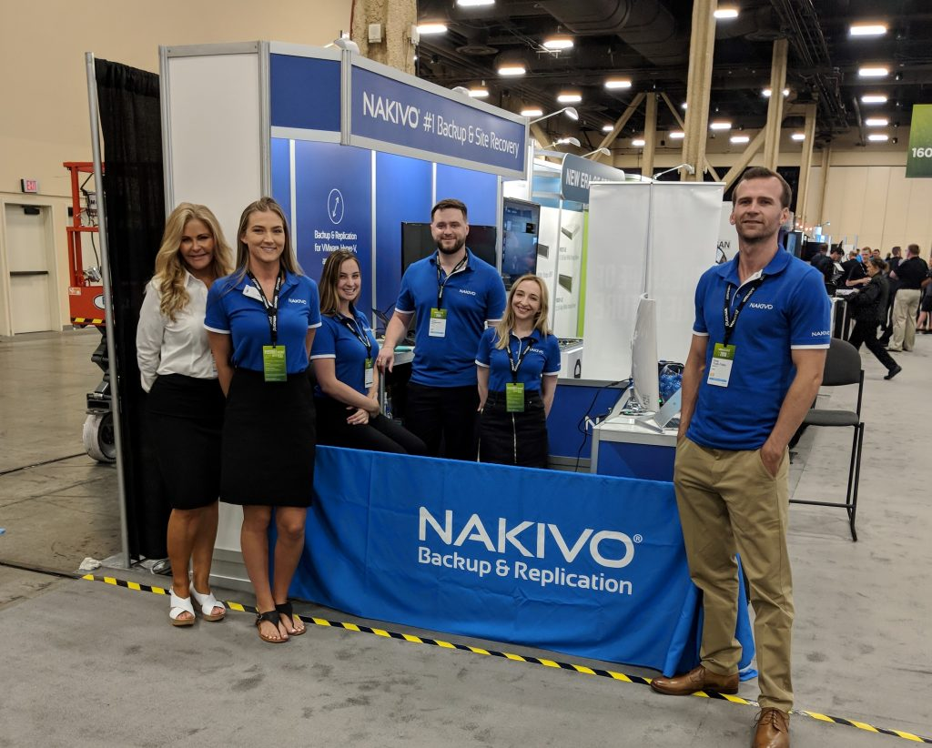 NAKIVO at VMworld 2018 US
