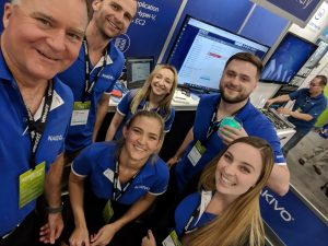 NAKIVO team at VMworld 2018 US