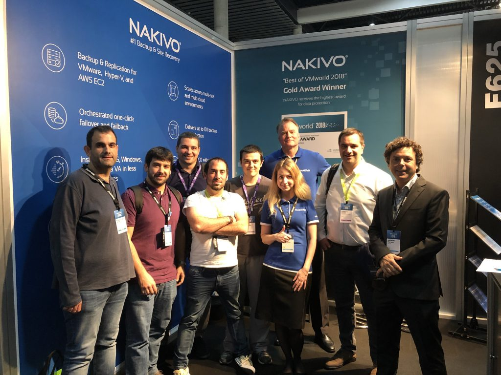 NAKIVO at VMworld 2018 EU
