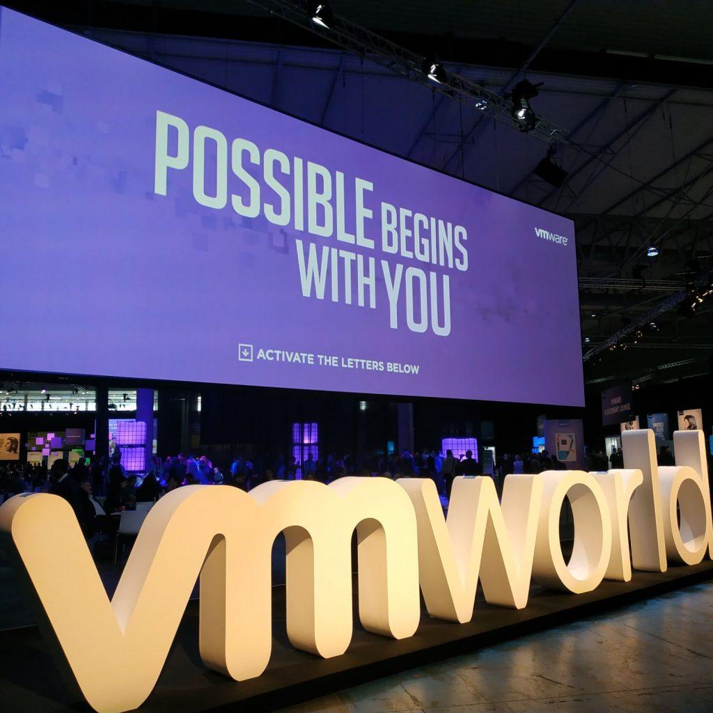 VMworld EU 2018