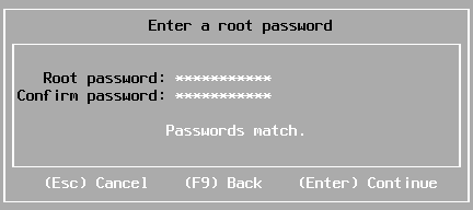 Setting a root password for ESXi