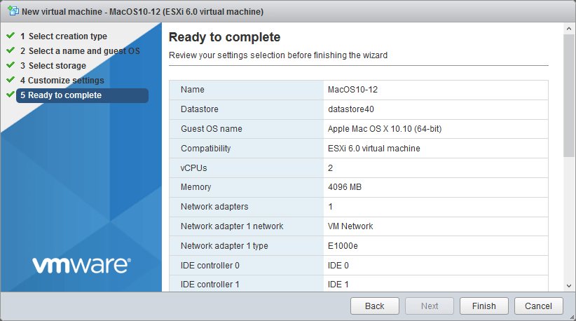 Managing VMware ESXi with Just a Mac