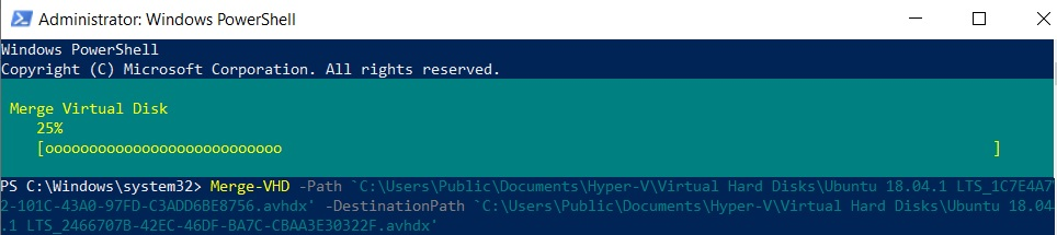 How to Merge Hyper-V Snapshots in PowerShell