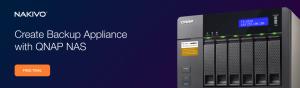 Versatile Backup Appliance on QNAP NAS
