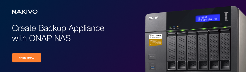 Versatile Backup Appliance on QNAP NAS