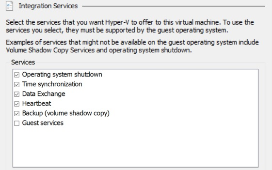 Hyper-V Integration Services (Hyper-V Best Practices)