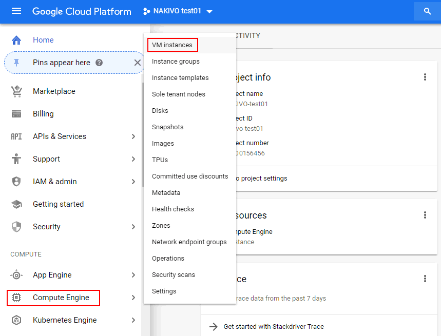 Two Methods of Backup to Google Cloud with NAKIVO Backup