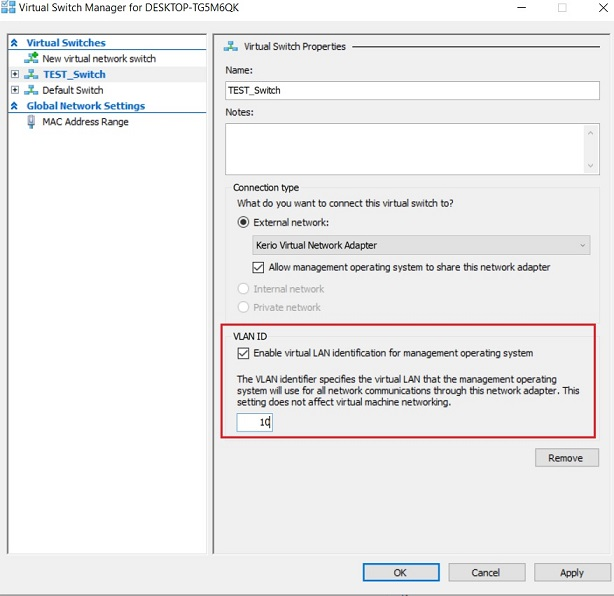 How to Isolate Network Traffic Using Hyper-V VLANs