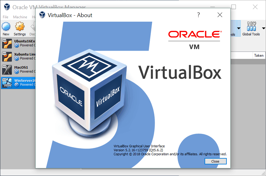 How to Update VirtualBox – check the current VirtualBox version before updating