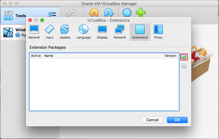 How to install VirtualBox Extension Pack on macOS – adding the extension pack in macOS