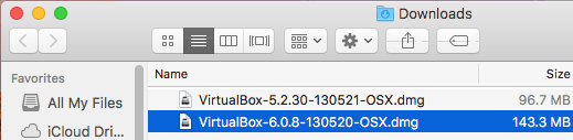 How to update VirtualBox on Mac – the installer is ready to run update