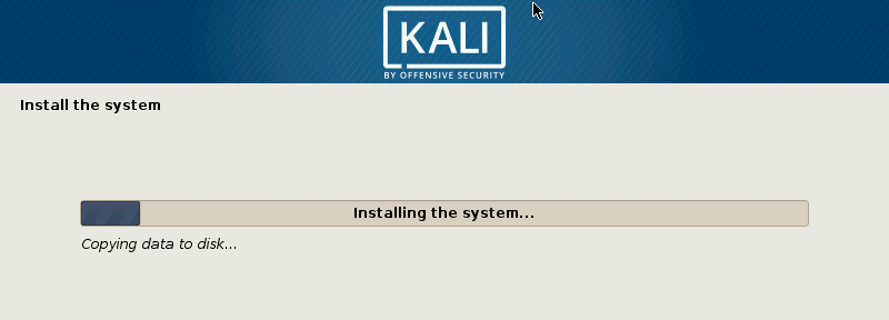Installing Kali Linux on VirtualBox