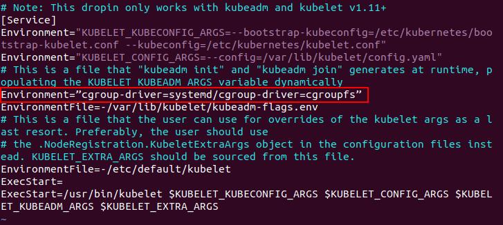 Installing Kubernetes on Ubuntu – configuring kubeadm
