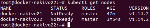 Kubectl get nodes – the second master node is added to the Kubernetes cluster running on Ubuntu machines.