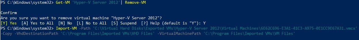Restore VM Using PowerShell (How to Import Hyper-V VMs)