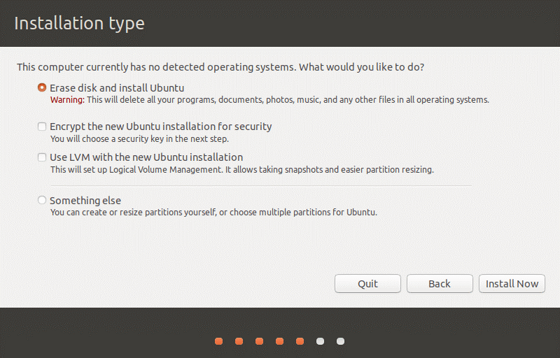 How to install Ubuntu on VirtualBox – preparing a disk