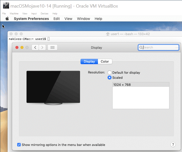 How to make VirtualBox full screen for Windows, macOS and