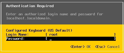 Authentication in ESXi without an ESXi password.