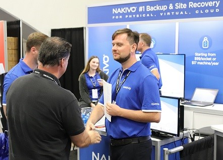 Meeting Clients and Partners at VMworld 2019 US