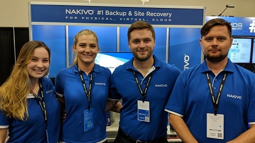 NAKIVO Team at VMworld 2019 US