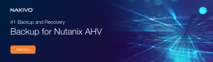 Backup for Nutanix AHV