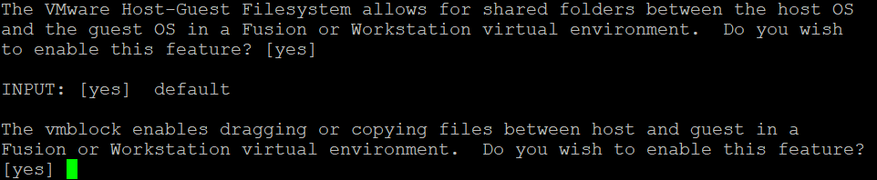 How to install VMware Tools on Solaris – enabling shared folders and shared clipboard