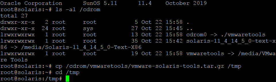 How to install VMware Tools on Solaris