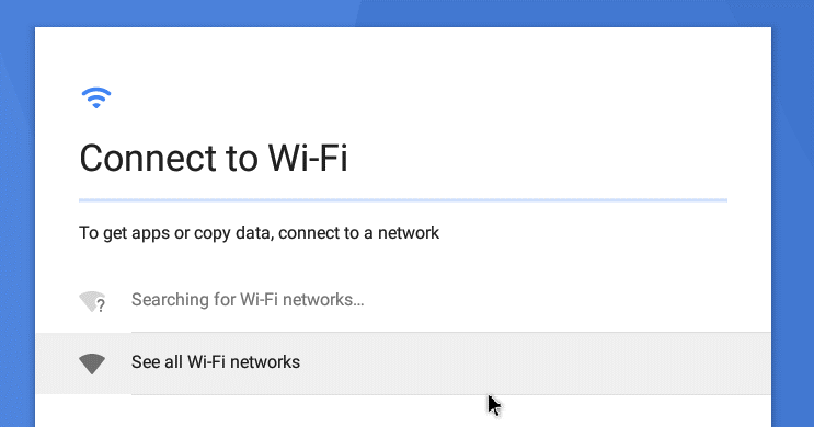Install Android on VMware – connect to Wi-Fi