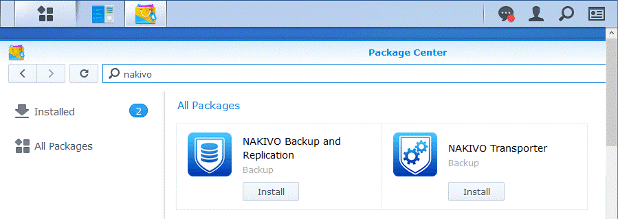 Creating an all-in-one backup appliance from your Synology NAS
